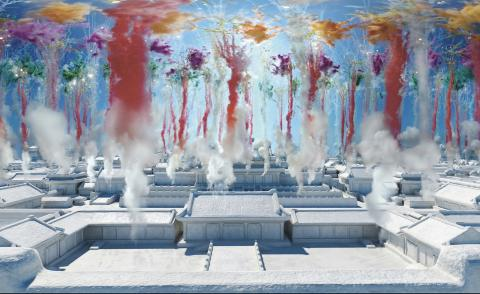 Cai Guo-Qiang's VR fireworks bring together advanced technology and traditional craft