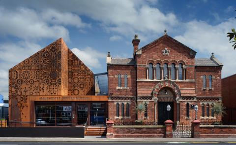 Manchester Jewish Museum opens this summer with its brick historical building and modern addition