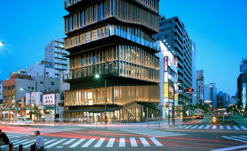 Kengo Kuma on achieving humbleness in modern architecture