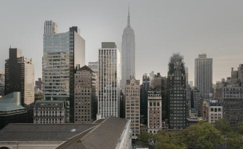 park view of Bryant Park by Chipperfield