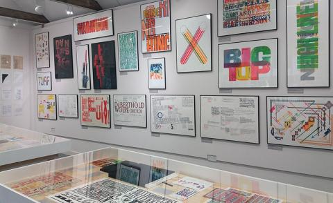 True to type: master of print Alan Kitching displays 'A Life in Letterpress'