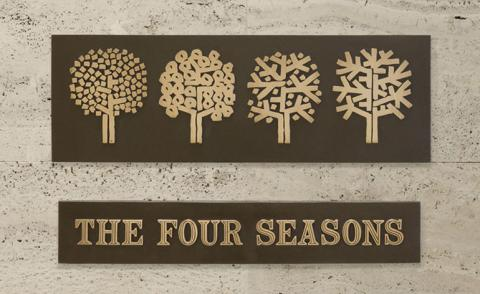 Going, gone: the Four Seasons Restaurant's sale of the century pips $4 million