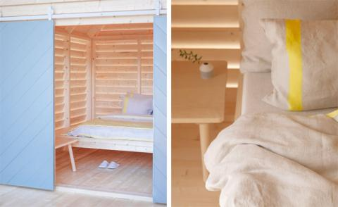 A Finnish-French break: mobile bed and breakfast cottages set to open in Paris