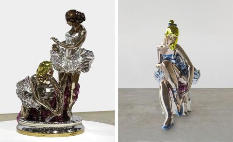 Ready-made success: Jeff Koons reflects at Almine Rech Gallery, London