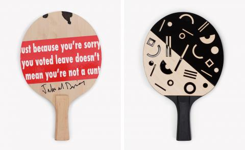 Artists make a racket for the latest edition of The Art of Ping Pong