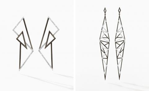 All the right angles: geometric jewels informed by Hong Kong urban life
