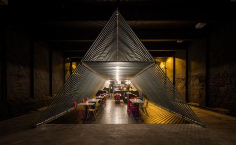 The second location of the Xiringuito concept has launched inside an old warehouse in Liverpool