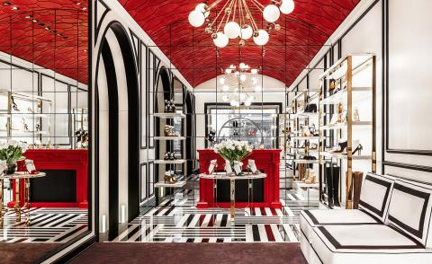 Moscow mule: Aquazzura and Casa Do Passadiço paint the town red