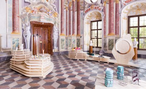 Baroque and roll: an extraordinary Austrian castle plays hosts to a show of young designers