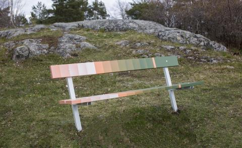 Bench press: designers put a new spin on public seating in Sweden
