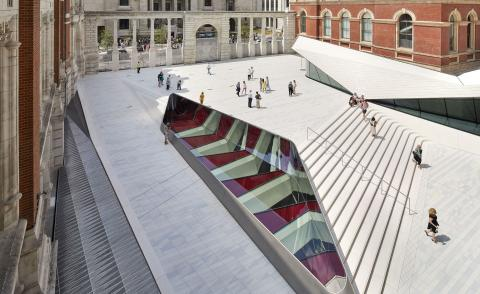 Amanda Levete's V&A extension weaves seamlessly into the historic heritage of the museum