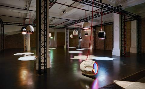 A tribe of Emma Hart's decapitated ceramic skulls swing into the Whitechapel gallery