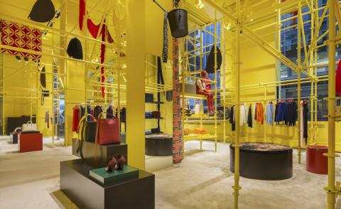 Reborn in the USA: Raf Simons unveils Sterling Ruby-designed Calvin Klein flagship
