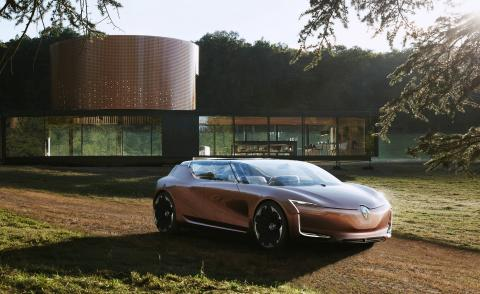 Renault brings the home to the open road with Le Corbusier-inspired concept car