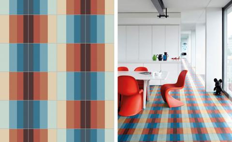 David Rockwell designs a graphic and vibrant new tile range for Bisazza