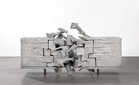 Vincent Dubourg creates a scene of composed chaos at Carpenters Workshop Gallery