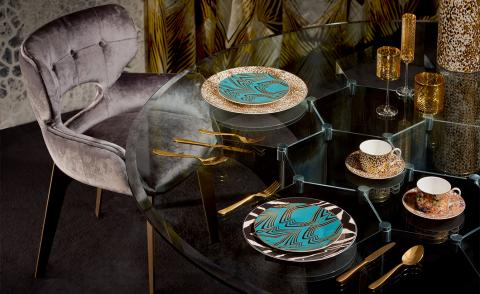 Wallpaper* brings to life the new Roberto Cavalli Home collection that exudes jet set baroque and disco deco