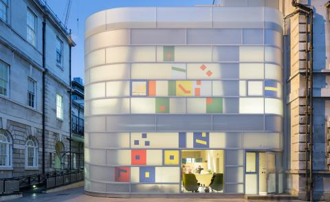 Check matte: Steven Holl creates a glowing Maggie's Centre in London
