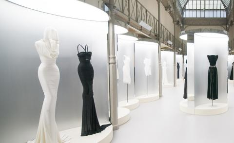 Prime numbers: 41 Alaïa masterpieces go on display at the couturier's Paris headquarters