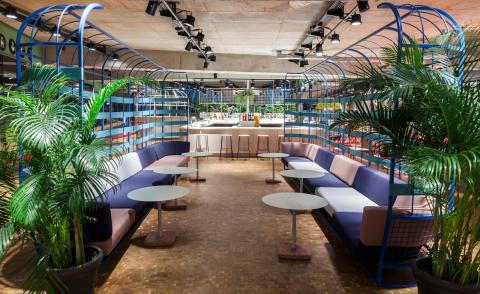 Europe's first 'design food court' is an Instagram dreamworld
