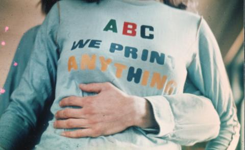 Typography relearns its ABC with a retro 1970s throwback