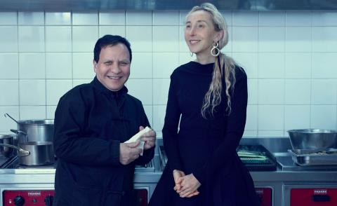 Double act: when Carla Sozzani and Azzedine Alaïa spoke about fashion past, present and future