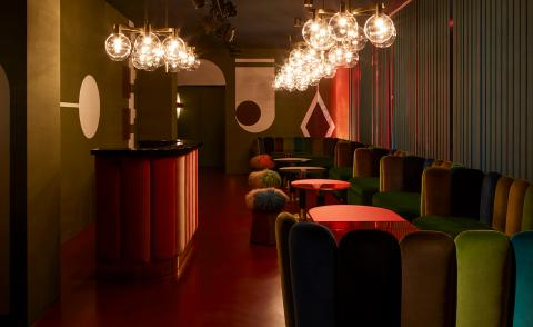 Dinner, drinks and disco: Salone del Mobile's top entertainment installations