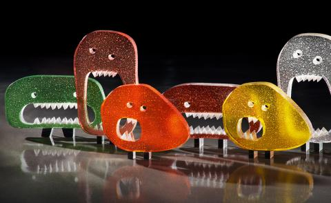 Lasvit's little glass monsters win the prestigious Milano Design Award at Salone del Mobile