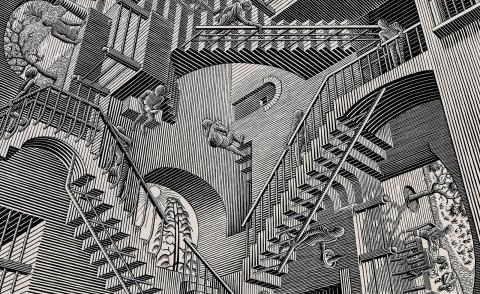 The worlds of Nendo and MC Escher will collide in major immersive exhibition