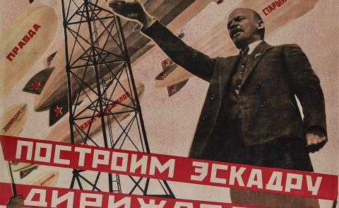 The Soviet propaganda graphics that shaped the Russian Revolution