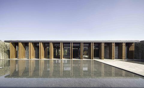 Neri&Hu have created a contemporary hotel that feels of its time and place with Tsingpu Retreat