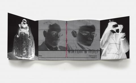 Viktor&Rolf's experimental theatrics are translated to the pages of a new book