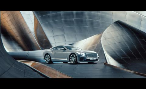 Bentley turns 100: the marque celebrates a century of design with a futuristic film
