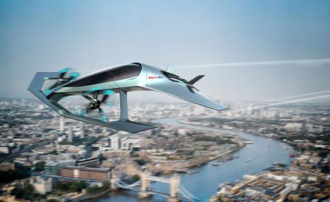 Aston Martin's first flying car concept is a vision of future air transport