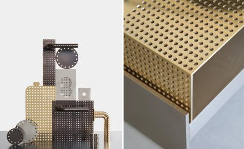 Stéphane Parmentier puts a graphic spin on hardware design with divine new collection