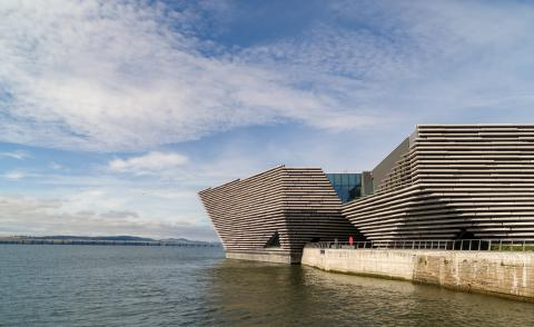 First look at Kengo Kuma's V&A Dundee