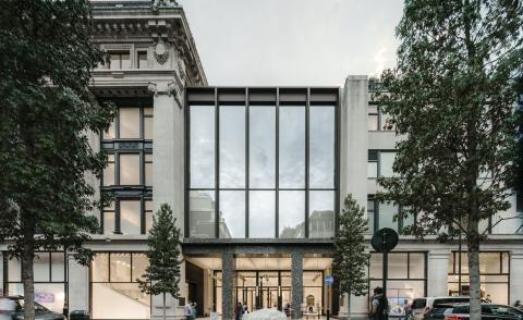 Selfridge's new Duke Street entrance by David Chipperfield Architects completes