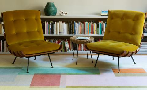 Witton Bright rug by Jonathan Sunaders for The Rug Company