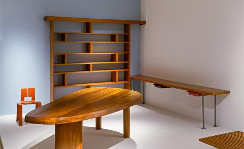 Charlotte Perriand's midcentury furniture goes on view in New York City