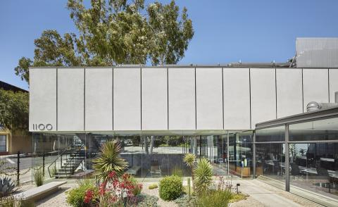 Midcentury modernist Maxwell Starkman's LA studio converted into an office by 1100 Architect