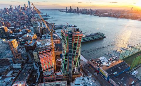 Bjarke Ingels' latest skyscraper 'The XI' tops out in New York City