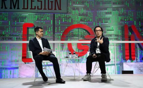 TF Chan and Lyndon Neri at Brainstorm Design 2019