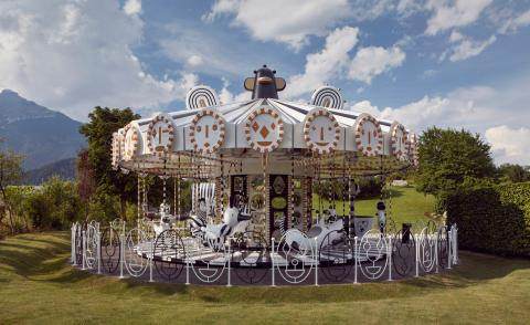 Jaime Hayon and Swarovski put a fresh spin on the fairground carousel