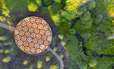 Francis Kéré adds uplifting timber pavilion to the Tippet Rise Art Center in Montana
