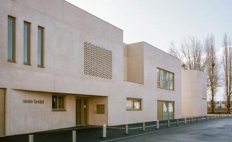 Ateliers O-S Architectes designs community centre for a sleepy French town