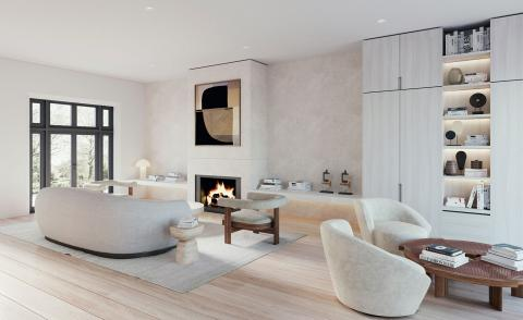 Notting Hill House by Alix Lawson and De Rosee Sa Architects