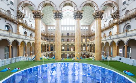 Rockwell Lab goes green for summer at National Building Museum in Washington D.C.