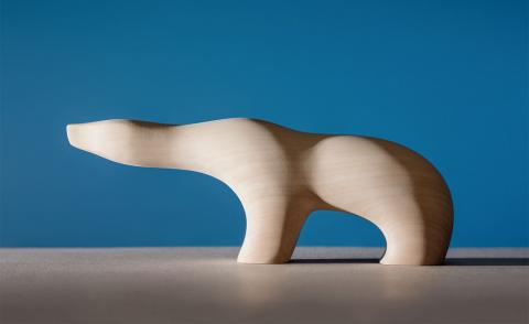 Midcentury figurines inspired by Arctic fauna get a new lease of life