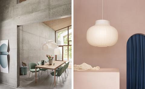 Muuto and Layer Strand lighting