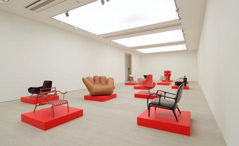 Italian design shown as artworks for the first I-MADE exhibition at Saatchi Gallery